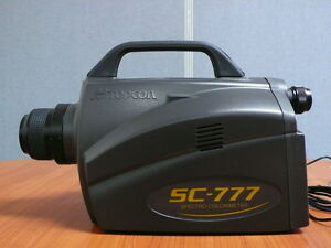 Topcon Sc 777 Spectro Colorimeter For Luminance Chromaticity Test