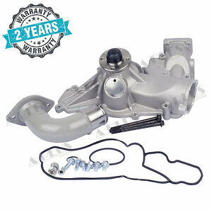 New Water Pump For 2003 1996 Ford Powerstroke 7 3l Diesel Turbo E