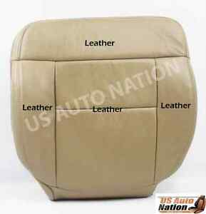 2005 2006 2007 2008 Ford F150 Lariat Driver Bottom Leather Seat Cover Color Tan