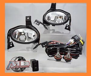 2010 2011 Honda Crv Replacement Clear Fog Light Kit Wiring switch