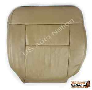 2005 2006 2007 2008 Ford F150 Lariat Driver Bottom Side Leather Seat Cover Tan