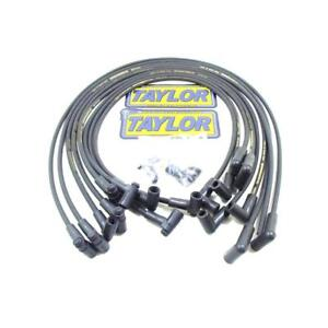 Taylor Spark Plug Wire Set 51006 Street Thunder 8mm Black For Chevy 262 400 Sbc