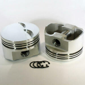 Dss Racing Piston Set 8750 4030 E 4 030 Bore Forged Flat Top For Ford 351w Sbf