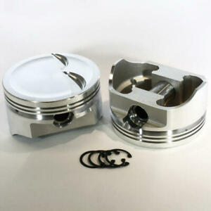 Dss Racing Piston Set 8740 4030 E 4 030 Forged Dish For Ford 347 Sbf stroker