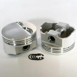 Dss Racing Piston Set 8720 4060 E 4 060 Bore Forged Flat Top For Ford 302 Sbf