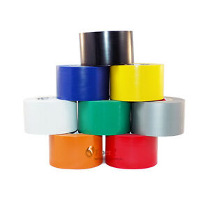 Tapessupply 8 Rolls Rainbow Electrical Tape 2 In X 66 Feet