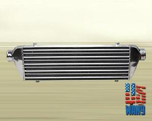 27 X 7 X 2 5 Jdm Fmic Turbo Front Mount Intercooler Universal For 4 Cylinder