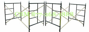 Cbm Scaffold Two Set Of New Flip lock 5 x5 1 x7 Masonry Scaffolding Frame Sets