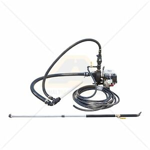 Portable Drum And Barrel Asphalt Sealcoat Spray System