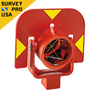 New Leica style Gpr111 Circular Prism With Holder For Total Station Survey