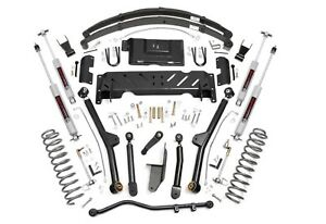 6 5 Long Arm Suspension Lift Kit For Jeep Cherokee Xj 1984 2001 Np231