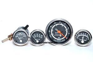 New Ford Tractor 600 700 800 900 Instrument Gauge Cluster Kit Tachometer 5 S