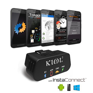 Plx Kiwi3 Obd2 Bluetooth Scan Tool Obdii Car Scanner For Android Ios