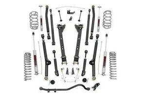 Jeep Wrangler Tj 2 5 Long Arm Suspension Lift Kit 1997 2006 6 Cylinder