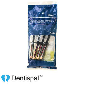 Kerr Revolution Formula 2 Flowable Light Cure Composite A3 4 Pack Blue Box