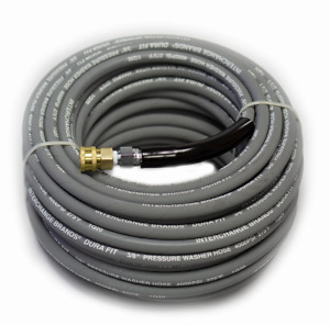 Pressure Parts 1267691 100 Ft 3 8 Gray Non marking 4000psi Pressure Washer Hose