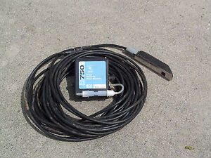 Isco 750 Area Velocity Flow Meter Module And Av Probe Warranty
