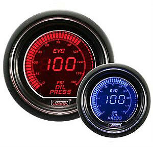 Prosport Evo Series 52mm Digital Oil Pressure Gauge