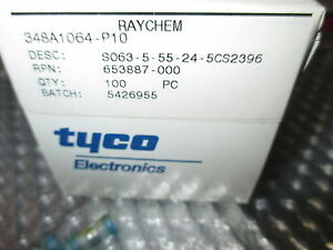Te Connectivity Raychem Solder Sleeve With Lead S063 5 55 24 5cs2396 100 Units