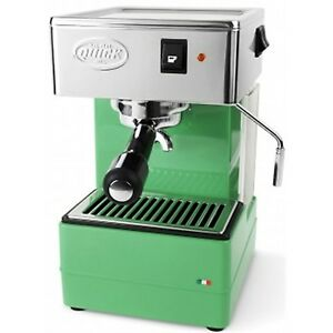 Quick Mill 820 Espresso Cappuccino 2 Cups Machine Coffee Thermoblock Green 220v