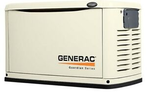 Generac 7033 Guardian Series 11kw Generator Alum Enclosure W 200a Se Switch