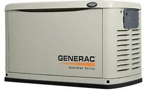 Generac 7037 Guardian Series 16kw Generator Alum Enclosure W 200 Amp Switch