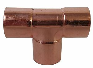 3 Tee Copper Pipe Fitting