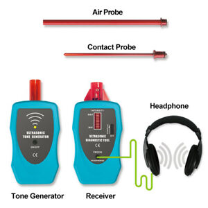 Ultrasonic Leak Detector Stethoscope Gas Liquid Trouble Shooting Tester Tools