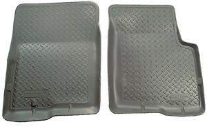 Husky Liners Classic Style Front Mats 35112 1995 2004 Toyota Tacoma Grey