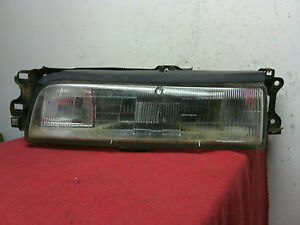1988 1992 Mazda 626 Lh Driver Side Headlight And Mount Bracket Oem