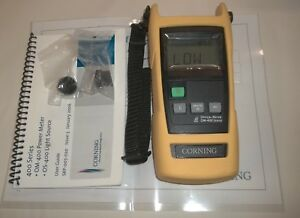 Corning Multi functional Handheld Fiber Optical Wavelength Power Meter Om 410