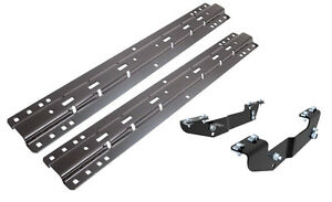 Curt Fifth Wheel Hitch Brackets Universal Base Rail Kit Fits Ford F250 F350