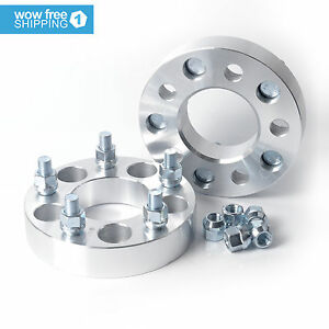 2pcs Wheel Spacers Adapters 5x4 5 To 5x4 75 1 25 1 2 x20 Stud For Ford Jeep