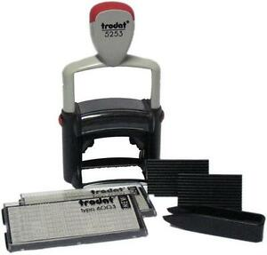 Trodat Professional 5253 Do it yourself Stamp Kit With Letters Numbers Symbols