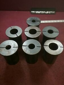 Ea Cnc Lathe Bushing Split Sleeve Reducer 3 od Lot Of 7 Free Shipping Loc1788
