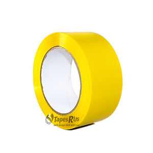 2 In X 55 Yds Yellow Carton Sealing Packing Tape Free Shipping