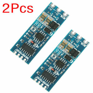 2 Pcs Rs485 To Ttl Module Stable Uart Serial Port To Rs485 Converter Function