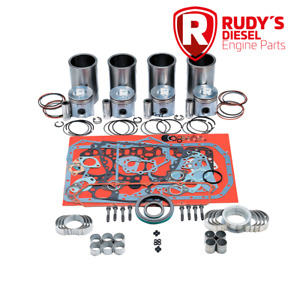 Cummins 4bt 3 9 8 valve Turbocharged 4cyl Diesel Premium Engine Kit