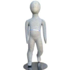 Mn 094 Pinnable Flexible Child Kid Mannequin With Head 2 7 12m 18m