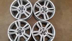 2014 17 Chrome Mustang Rims 4