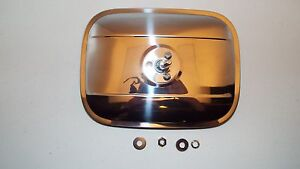 1955 1956 1957 1958 59 Chevrolet Ford Truck Stainless Outside Mirror 6 X 8