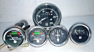 Tachometer Gauge Set For Massey Ferguson Tractor Mf35 Mf50 Mf65 Mf135 Mf150 165