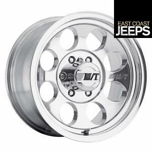 Mickey Thompson Classic Iii 16x10 With 6 On 5 5 Bolt Pattern Polished 9000000