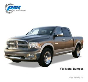 Black Paintable Oe Style Fender Flares 2009 2018 Dodge Ram 1500 Full Set