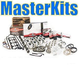Chevy 350 Master Engine Rebuild Kit 67 85 030 010 010 Flat Top Pistons