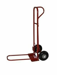 Milwaukee 44915 800 pound Capacity Heavy Duty P handle Hand Truck With 10 inch P