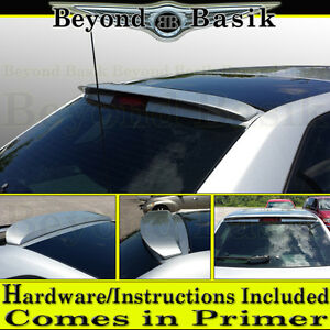 2004 2005 2006 2007 Chevy Malibu Maxx Factory Style Roof Top Spoiler Wing Primer