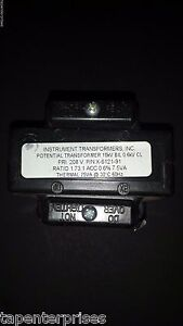 Instrument Transformers Inc Potential Transformer X 6121 91 468 208