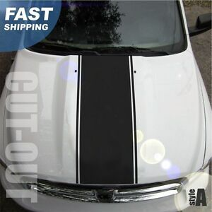 1500 2500 3500 Ram Truck Hood Stripes Vinyl Decal Sticker Graphic Dh 000