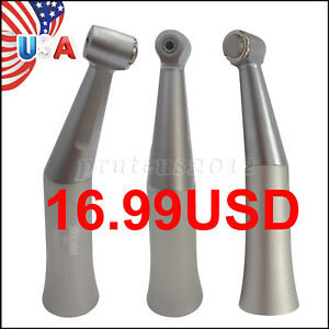 Dental Led Fiber Contra Angle Low Speed Handpiece Inner Water Spray Nsk Style